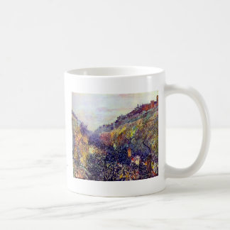 Carnival Tuesday on Boulevard Montmartre Pissarro Coffee Mugs