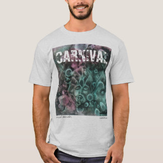 'Carnival' Watercolor t-shirt by unASLEEP