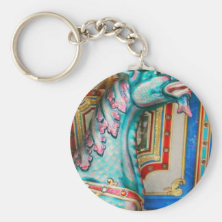 Carnival - Year of the dragon Basic Round Button Keychain