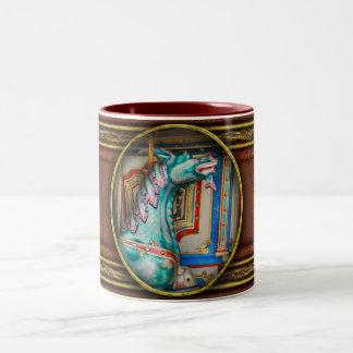Carnival - Year of the dragon Two-Tone Coffee Mug