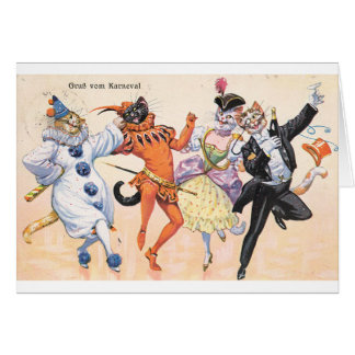 Carnivale Cats, Card