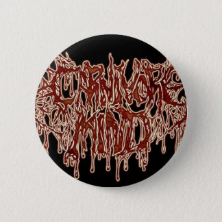carnivore mind 2 inch round button