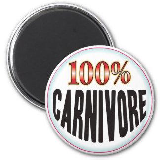 Carnivore Tag Magnet