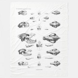Carnivores Fleece Blanket