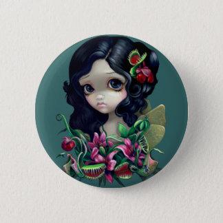 """""""Carnivorous Bouquet Fairy"""" Button"""