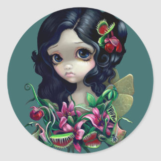 """Carnivorous Bouquet Fairy"" Sticker"