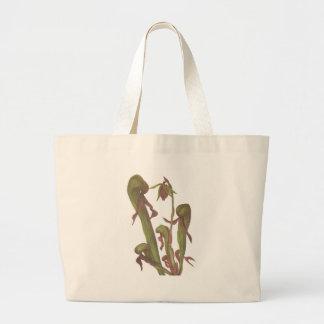 Carnivorous Plant - Darlingtonia californica Large Tote Bag