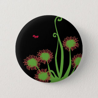 Carnivorous Sundew Plant 2 Inch Round Button