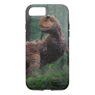 Carnotaurus Dinosaur Cretaceous Period Grass Trees iPhone 8/7 Case