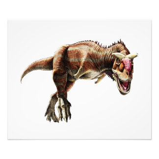 Carnotaurus Gift Awesome Carnivorous Dinosaur Photo Print