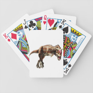 Carnotaurus Gift Awesome Carnivorous Dinosaur Poker Deck