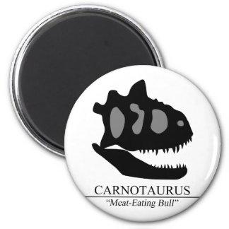Carnotaurus Skull Magnet