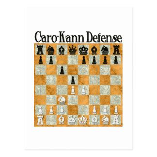Caro-Kann Defense Postcard