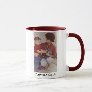 Carol and Terry mug