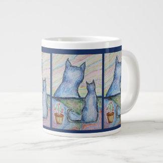 Carol-Lynne's Cats Jumbo Mug
