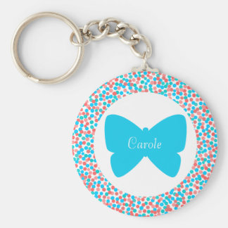 Carole Butterfly Dots Keychain - 369