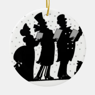 Carolers Ceramic Ornament