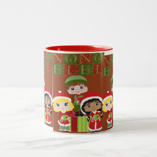 Caroler's Two-Tone Coffee Mug