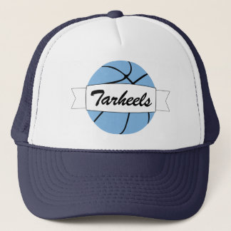 Carolina Blue Basketball Custom Team Name Cap Hat