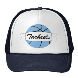 Carolina Blue Basketball Custom Team Name Cap Hat