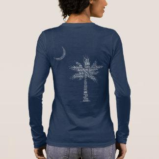 "Carolina Designer Palmetto ""Southern Girl"" Logo Long Sleeve T-Shirt"