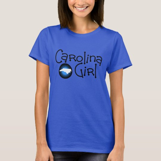 Carolina Girl Blue Burst T-Shirt