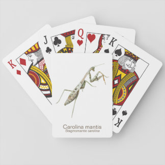 Carolina Mantis Playing Cards