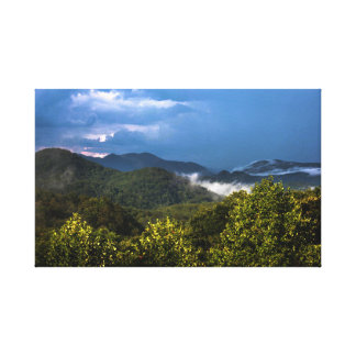 Carolina Mountains Canvas Print