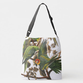 Carolina Parrot Birds Wildlife Audubon Tote Bag