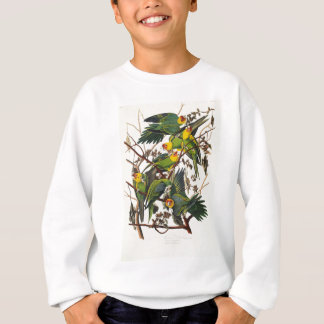 Carolina Parrot - John James Audubon (1827-1838) Sweatshirt