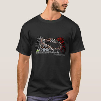Carolina Pygmy Rattlesnake ASEFH Beta T-shirt