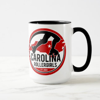 Carolina Rollergirls Logo Coffee Mug