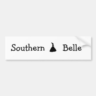 carolina state of mind southern belle, Southern... Bumper Sticker