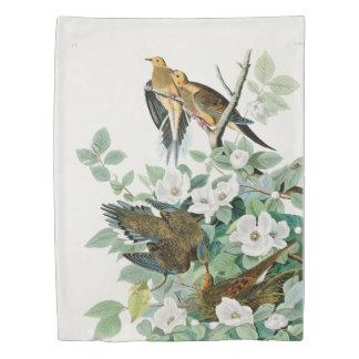 Carolina Turtle Dove, Birds of America by John Jam Duvet Cover