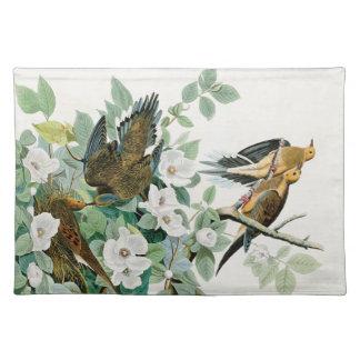 Carolina Turtle Dove, Birds of America by John Jam Placemat