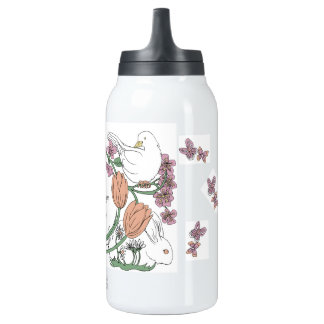 Caroline Bosker Flask, Spring Collection Insulated Water Bottle