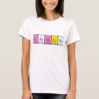 Caroline periodic table name shirt