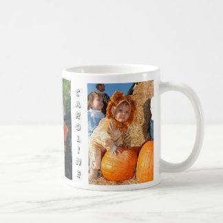 Caroline pumkin patch coffee mug