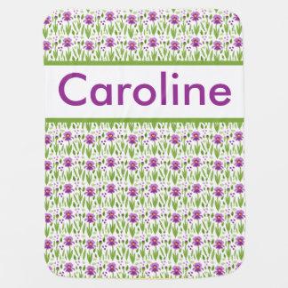 Caroline's Personalized Iris Blanket