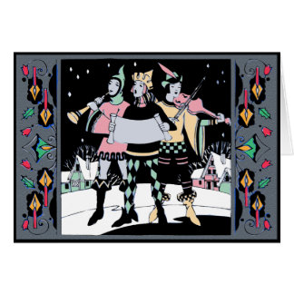 Caroling Trio Colorway One Card