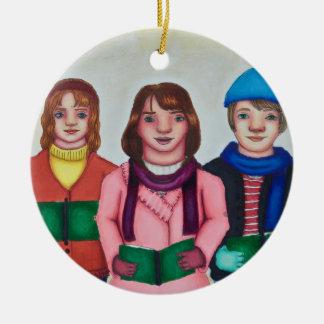 Caroller Trio Christmas Ornament
