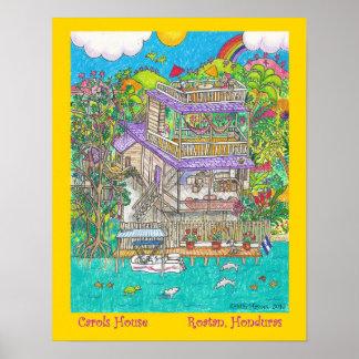 Carols Casa Poster