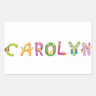 Carolyn Sticker