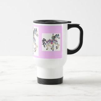 Carosel Horse Travel Mug