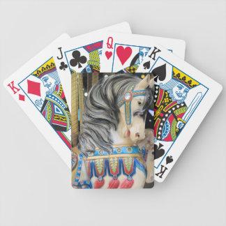 Carousal Horse 1 Bicycle Playing Cards