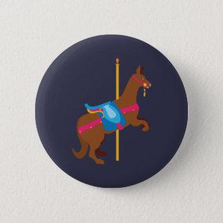 Carousel Animal Kangaroo 2 Inch Round Button