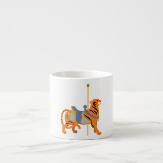 Carousel Animal Tiger Espresso Cup