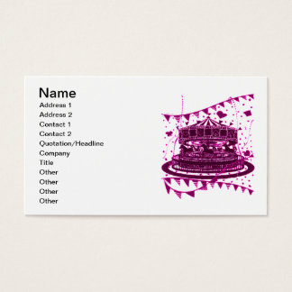 Carousel Business Card