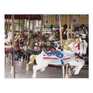 Carousel Dreams Postcard