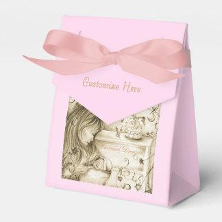 Carousel Dreams Vintage Style Pink Favor Box